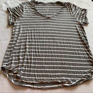 AE Soft & Sexy Stripped T-Shirt